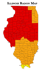 Radon Levels in Illinois